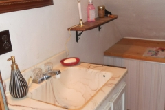 Bathroom - upstairs - half bath 1