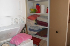 Main Floor Laundry - storage